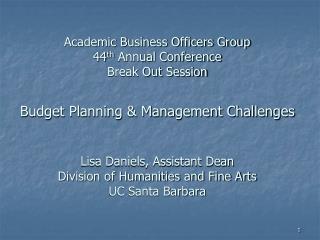 Campus Budget Cut Process
