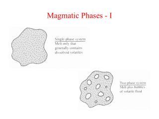 Magmatic Phases - I