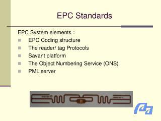 EPC Standards