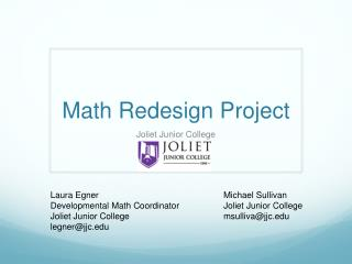 Math Redesign Project