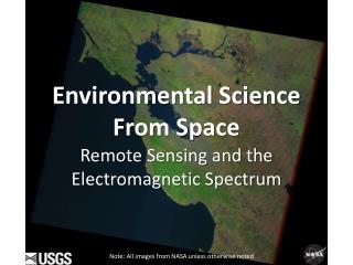 Environmental Science  F rom Space