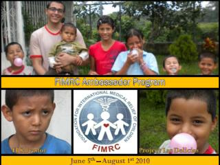 FIMRC Ambassador Program