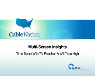 Multi-Screen Insights