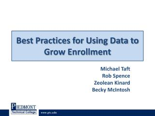 Best Practices for Using Data to Grow Enrollment