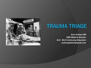 Trauma  TrIage