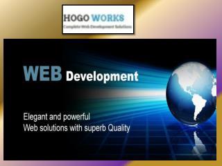 Web Development Solutions UK , HOGO WORKS