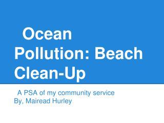 Ocean Pollution: Beach Clean-Up