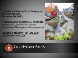 Earth  Systems Pacific