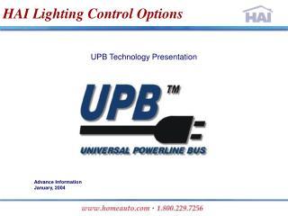 HAI Lighting Control Options