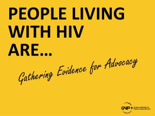 Gathering Evidence for Advocacy