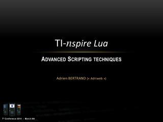 Adrien BERTRAND  («Adriweb»)