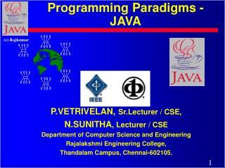 Programming Paradigms - JAVA