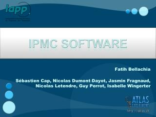 IPMC software