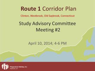 Study Advisory Committee  Meeting #2