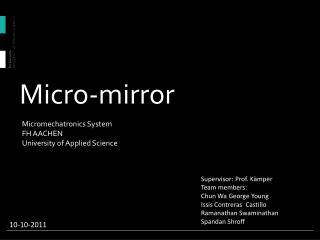 Micro-mirror