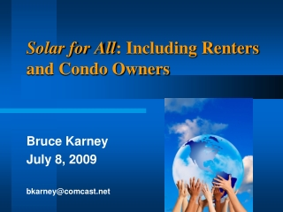 Solar for All: Including Renters and Condo Owners