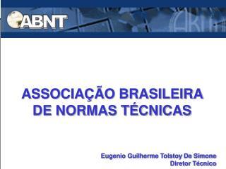 ASSOCIA  O BRASILEIRA DE NORMAS T CNICAS