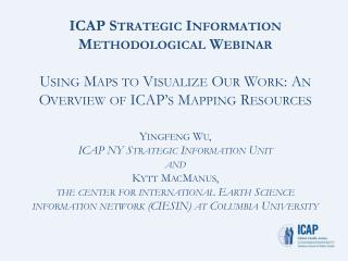 ICAP's Mapping Resources