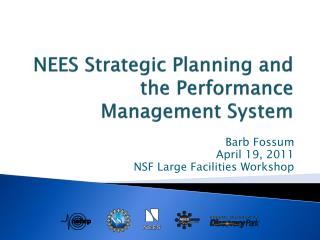 NEES Strategic Planning and the Performance Management System