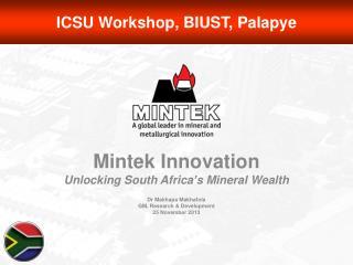 ICSU Workshop, BIUST,  Palapye