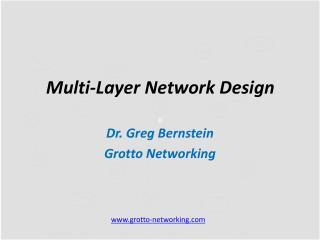 Multi-Layer Network Design