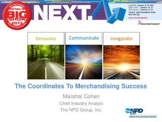 The Coordinates To Merchandising Success