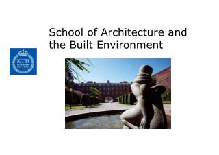 School of Architecture and the Built Environment