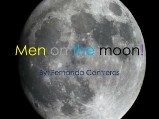 Men  on  the moon !