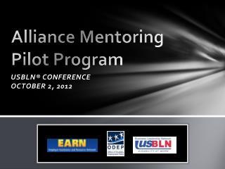 Alliance Mentoring Pilot Program