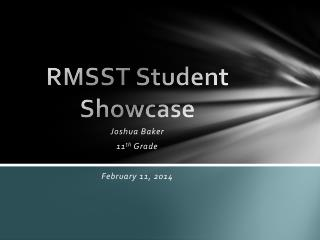 RMSST Student Showcase