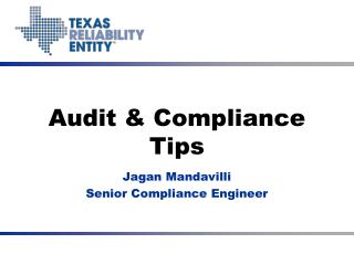 Audit & Compliance Tips