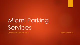 Miami Parking Services