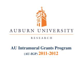 AU Intramural Grants Program  ( AU-IGP)  2011-2012
