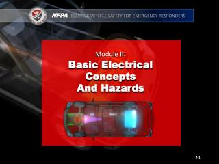 Module II : Basic Electrical  Concepts And Hazards