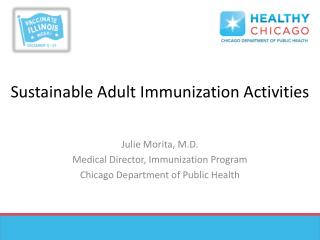 Sustainable Adult Immunization Activities