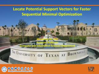 Locate Potential Support Vectors for Faster Sequential Minimal Optimization