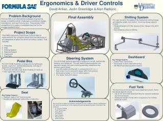 Ergonomics  & Driver Controls
