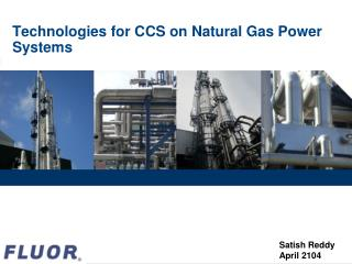 Technologies for CCS on Natural Gas Power Systems