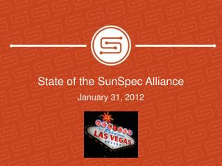State of the  SunSpec  Alliance