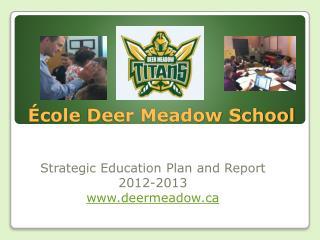 École  Deer Meadow School