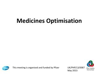 Medicines Optimisation
