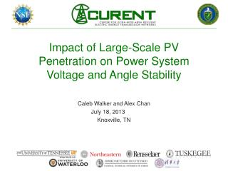 Impact of Large-Scale PV Penetration on Power System Voltage and Angle Stability