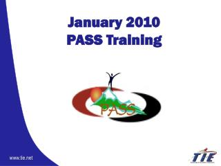 January 2010 PASS Training