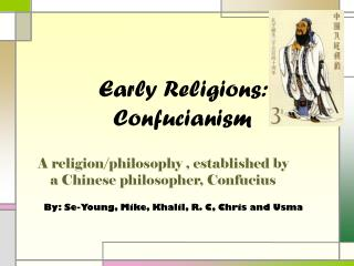 Early Religions: Confucianism