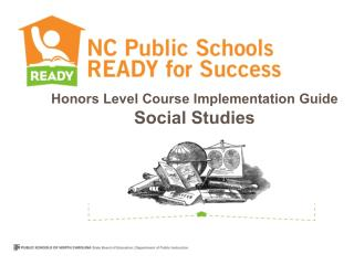 Honors Level Course Implementation Guide  Social Studies