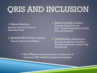 QRIS and Inclusion