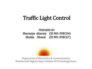Department of  Electronics & Communication