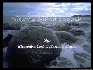 Nieuw Zeeland English