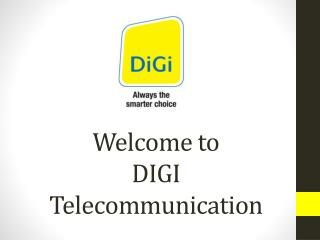Welcome to DIGI Telecommunication