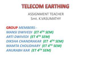 TELECOM EARTHING